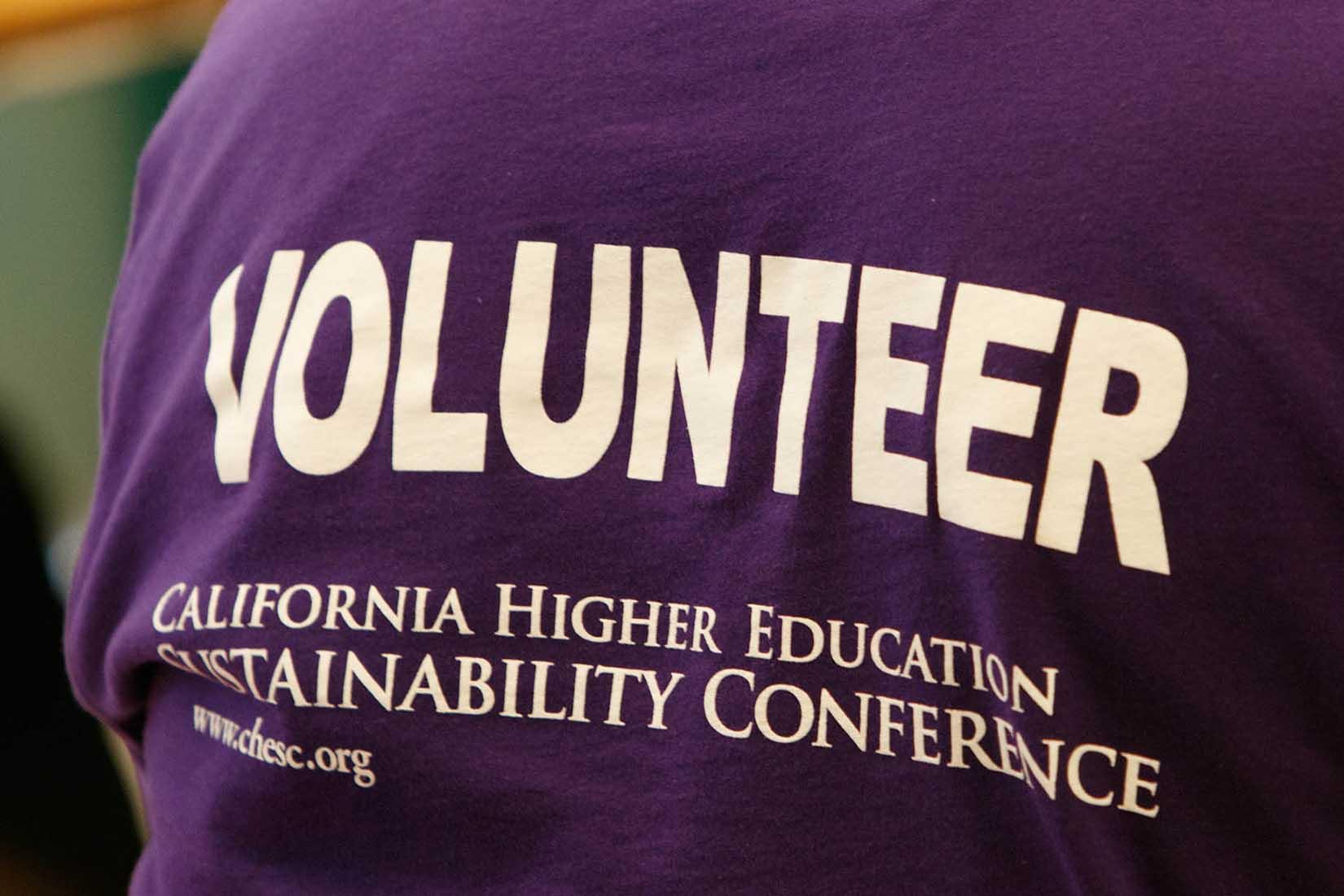 volunteer t-shirt photo