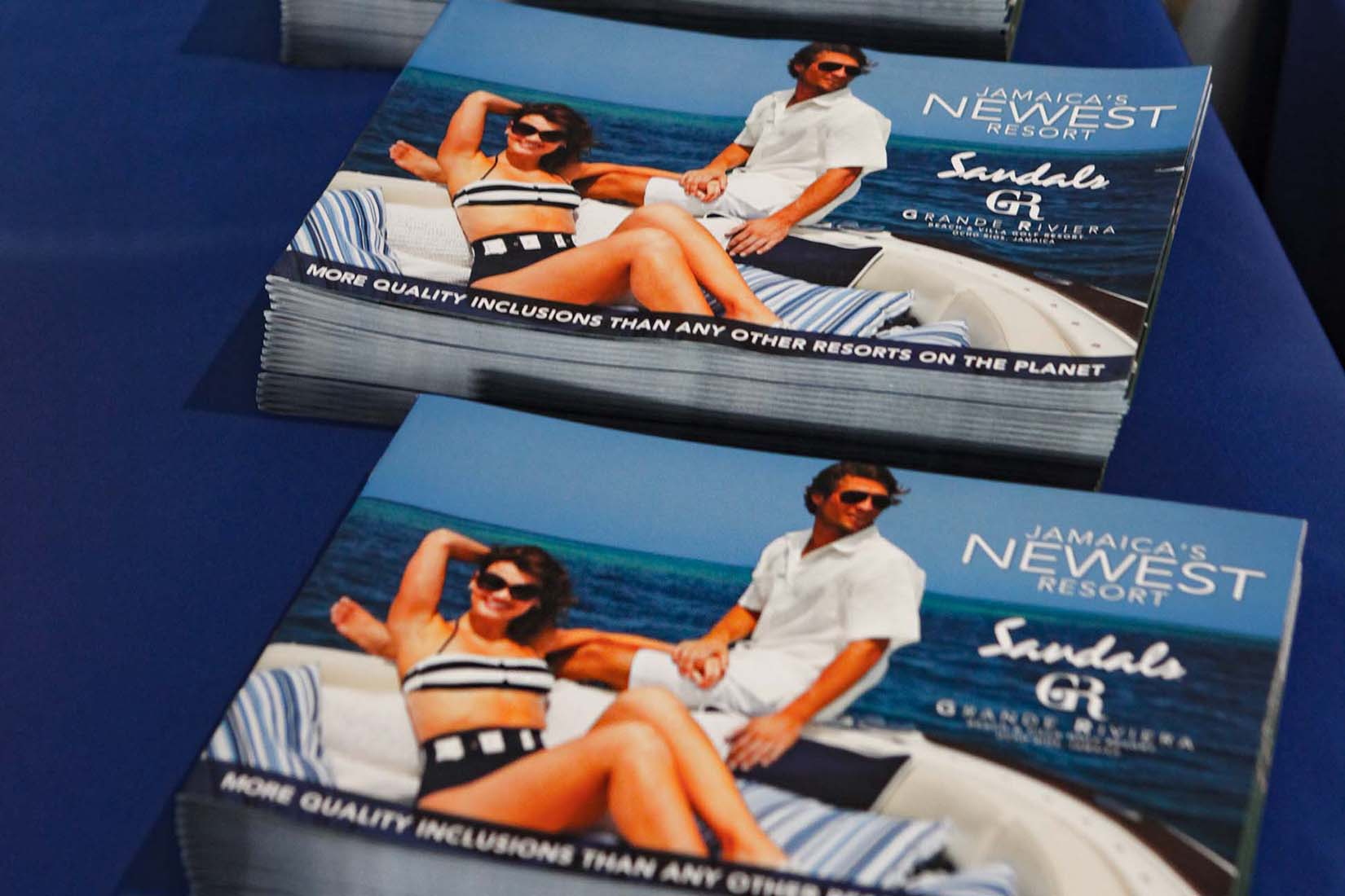 jamaica resort brochure photo